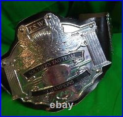 REAL WRESTLING BELTS TSW Southern Tag Team Championship Titles Both NWA WWE AEW