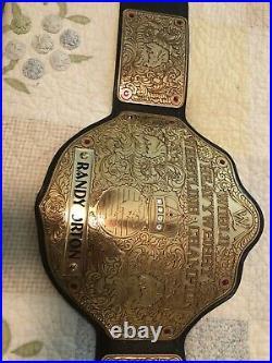 REAL WWE Big Gold World Heavyweight Championship Belt