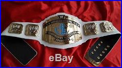 REAL WWE Intercontinental IC Heavyweight Championship Title Wrestling Belt WWF