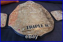 REAL WWE Style Big Gold Championship Belt Paul Martin