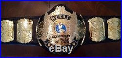 Reggie Parks Winged Eagle Real Championship Wrestling Belt Wwf Wwe