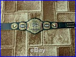 RING OF HONOR WORLD Wrestling Championship Belt. Adult Size