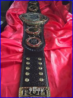 ROH Ring Of Honor Wrestling Championship Title Belt Adult Metal Plates WWE TNA