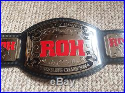 ROH World Championship Wrestling Title Belt Replica Classic TNA WWE