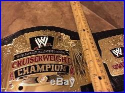 Rare Figures Toy Company Wwe Cruiserweight Championship Belt Replica Heavy