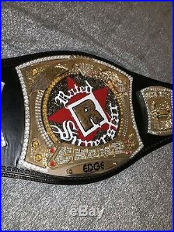 Rated R Spinner Championship Belt WWE Adult Size Replica