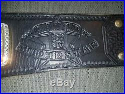 Rated R WWE Championship Replica Belt, Releathered Real Leather, and Restoned