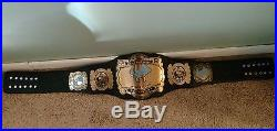 Real Championship Belt RING USED By AJ STYLES WWE ROH WCW ECW Dreamer Lethal