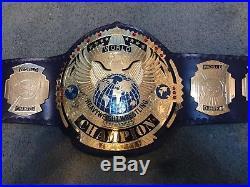 Real Championship Wrestling Belt Wwe Tna Gfw Wcw Ecw
