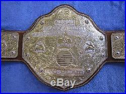 Real Dave Millican Crumrine Cast Big Gold Championship Wrestling Title Belt WWE