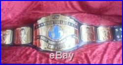 Real Dave Millican Intercontinental Championship Wrestling Belt Wwf Wwe