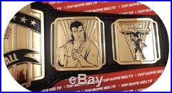 Real Dave Millican Intercontinental Championship Wrestling Belt Wwf Wwe