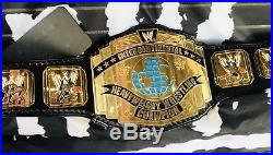 Real Leather 4mm WWE INTERCONTINENTAL wrestling Championship Belt by Red Leather