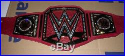 Real Leather Real Stones WWE Universal Championship Belt