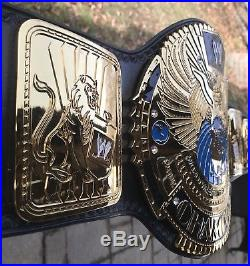 Real Leather WWE / WWF WORLD Championship Belt by Red Leather 4mm