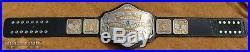 Real Millican NWA National Heavyweight Wrestling Championship Title Belt WWE