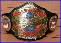 Real NWA United States Wrestling Championship Belt, Millican, WWE