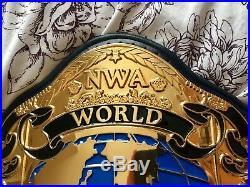 Real NWA Wrestling Tag Team Championship Belt WWF WWE ROH TNA NJPW