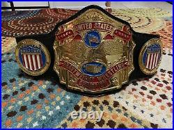 Real Pro Wrestling Untied States Championship Belt Reggie Parks NWA AEW WWF WWE