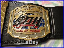 Real ROH Tag Team Championship Wrestling Belt WWE WCW ECW NWA TNA