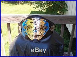 Real Undisputed World Championship Belt Title Dave Millican WWF WWE WCW TNA ECW