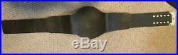 Real WCW 91-93 Championship Belt Reggie Parks Design American Made WWE WWF AEW