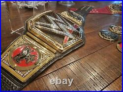 Real WWE Elite Authentic TV Series World Heavyweight Championship Belt Wildcat