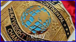 Real WWE Intercontinental white nugget textured Title Replica Belt WWF jmar IC