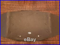Real WWE WWF Undisputed Championship Belt Real Leather Gold American Undertaker