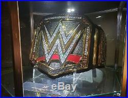 Real WWE World Heavyweight Championship Leather Belt Addiction American Restoned