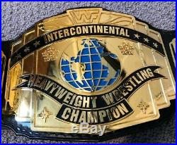 Real WWF Intercontinental Championship Belt Millican Reggie Parks JMAR WWE WCW