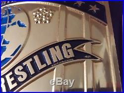 Real WWF Intercontinental Championship Belt, Reggie Parks, WWE