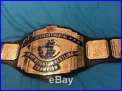 Real WWF Intercontinental Championship Belt WWE WCW