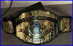 Real WWF Intercontinental Championship Title Belt WWE JMAR PARKS MILLICAN WCW DX
