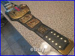 Real WWF WWE Tag Team Championship Wrestling Belt AMERICAN Has Plating Issues
