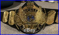 Real WWF Winged Eagle Championship Title Belt WWE WCW AEW Reggie Parks Millican