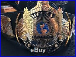 Real Winged Eagle Championship Belt Real Leather FWF WWF WWE