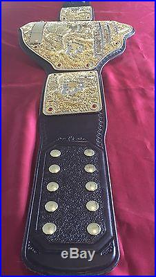 Real World Heavyweight Championship Big Gold Belt Performance WWE WCW NWA WWF