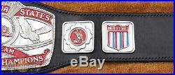 Real Wrestling Championship Title Belt NWA United States Tag Team WWE AEW TNA