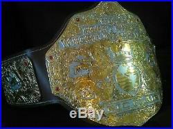 Real big gold belt, Championship Wrestling Belt, WCW WWE NWA WWF AEW