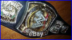 Releathered Rey Rey Spinner Belt Part Restoned Wwe Championship Adult Replica