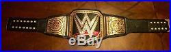 Releathered Wwe Network Logo World Heavyweight Championship Wrestling Belt Metal