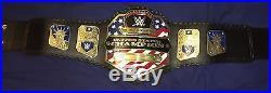 Replica WWE United States Championship Belt Adult Size Gold Metal Plates