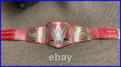 Replica WWE Universal Championship Belt Adult Size wrestling red