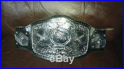 Ricky Steamboat autographed NWA US heavyweight Wrestling championship belt wwe