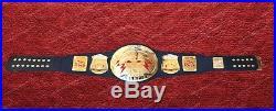 Rock Bull WWE World Heavyweight WWF Rock Bull Championship Leathers Belt