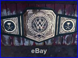 Royal Rumble WWE Heavyweight Wrestling Championship Title Belt With Box