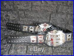 SALE Tag Team Championship Belts 2 Emperor Model Adult wwf Metal Plates wwe wcw