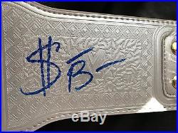 Sasha Banks New Authentic Hand Signed Replica Wwe Womens Championship Belt