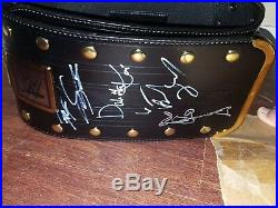 Signed Authentic Replica WWE NXT Championship Belt